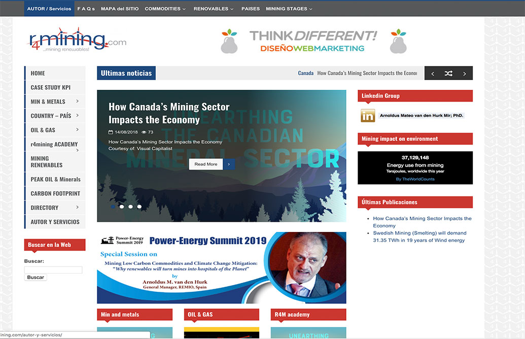 Think Different R4mining Web